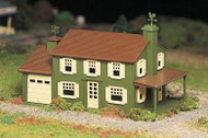 Plasticville O Scale USA Classic Building/Structure Kit Two-Story House