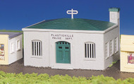 Bachmann HO Scale Plasticville Classic Building/Structure Kit - Police Station