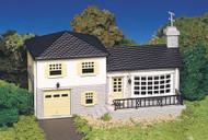 Bachmann HO Scale Plasticville Classic Building/Structure Kit Split-Level House