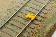 Durango Press HO Scale Model Railroad Detail Parts - Track Derail (3-Pack)