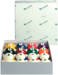 Genuine Belgian Aramith Crown Standard Pool/Billiard Ball Set (Phenolic Resin)