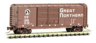 Micro-Trains MTL Z-Scale 40ft Box Car Great Northern/GN Circus Series #5 (#3484)