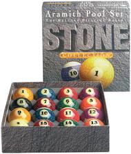 Genuine Belgian Aramith Stone (Marble) Pool/Billiard Ball Set (Phenolic Resin)