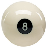 Genuine Aramith Brand Reverse White Eight 8 Ball Pool/Billiard Novelty Ball