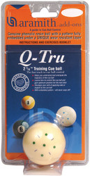 Aramith Q-Tru Training Cue Pool Billiard Ball