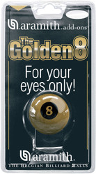 Genuine Aramith Brand Golden Eight 8 Ball Pool/Billiard Novelty Ball