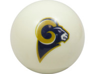 NFL Imperial St Louis Rams Pool Billiard Cue/8 Ball - White