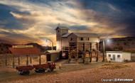 Kibri Z Scale Building/Structure Kit Steiner Gravel Works Production Plant