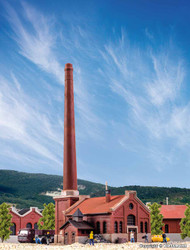 Kibri Z Scale Building/Structure Kit Boiler House with Smokestack