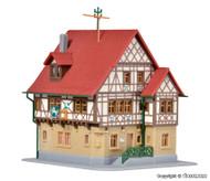 Kibri Z Scale Building/Structure Kit Weincastell Hotel/Restaurant