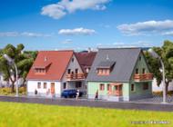 Kibri Z Scale Building/Structure Kit Steinweg Settlement Houses/Homes 2-Pack
