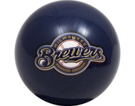 MLB Imperial Milwaukee Brewers Pool Billiard Cue/8 Ball - Blue