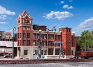 Kibri N Scale Building/Structure Kit Wilhelminian Brick Factory Building