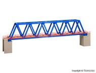 Kibri N Scale Building/Structure Kit Box Girder Bridge with Piers - Blue