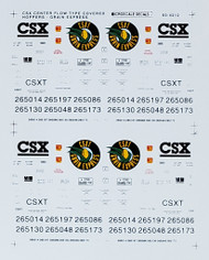 Microscale Model Railroad/Train Decals N Scale CSX Grain Express CF Hopper