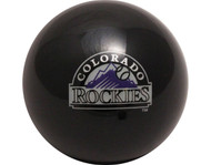 MLB Imperial Colorado Rockies Pool Billiard Cue/8 Ball - Old Style