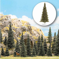 "Busch N/HO/O Scale Pine/Fir/Spruce/Conifer Trees (Package of 60) 2-5"" Tall 6472"