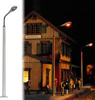 Busch HO Scale Street Lamp Concrete Oval Model Train Scenery Detail Kit 4137