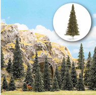 "Busch Z/N/HO Scale Pine Trees (Package of 60) 1-3/16"" to 2-3/8"" Tall 6572"
