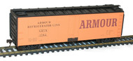 Accurail HO Scale Kit 40' Steel Refrigerator Car Armour Refrigerator Line #1562