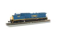 Bachmann N Scale GE Dash 8-40CW Locomotive (DCC/Sound) CSX Transportation #7369