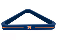 Solid Wood NCAA Auburn Tigers 8-Ball Billiards/Pool Table Triangle Rack