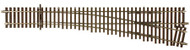 Atlas O Scale Code 148 Solid Nickel Silver 2-Rail - #5 Right Hand Turnout