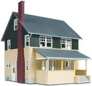 Atlas HO Scale Model Railroad Building Kit Kate's Colonial Home/House