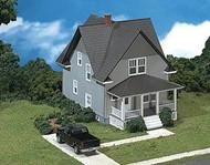 Atlas HO Scale Model Railroad Building Kit Kim's Classic Home/House