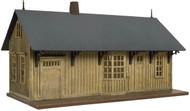Atlas HO Scale Model Railroad Building Kit Trainman Rural Train Station