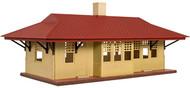 Atlas HO Scale Model Railroad Building Kit Trainman Branch Line Train Station