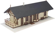 Atlas HO Scale Model Railroad Building Kit Maywood Train Station