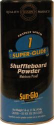 Sun-Glo Speed #1 Super Glide Shuffleboard Table Powder Wax - 1 Can