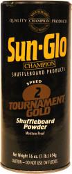 Sun-Glo Speed #2 Tournament Gold Shuffleboard Table Powder Wax - 1 Can