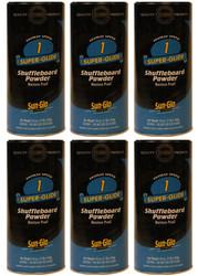 Sun-Glo Speed #1 Shuffleboard Table Powder Wax - 6 Cans