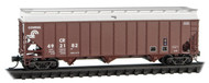 Micro-Trains MTL N-Scale 100-ton 3-Bay Hopper/Removable Cover Conrail/CR #492182