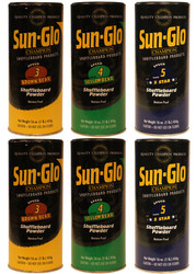 Sun-Glo MED Mix Shuffleboard Powder Wax 6 Pack 2ea. Speeds 3-5