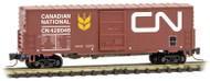 Micro-Trains MTL Z-Scale 40ft Single Door Box Car Canadian National/CN #428129