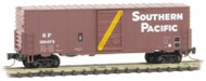 Micro-Trains MTL Z-Scale 40ft Single Door Box Car Southern Pacific/SP #191473