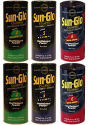 Sun-Glo Mix Shuffleboard Powder Wax 6 Pack 2ea. Speeds 4-6