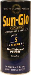 Sun-Glo Speed #5 5 Star Shuffleboard Table Powder Wax - 1 Can