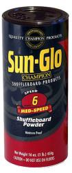 Sun-Glo Speed #6 Med Speed Shuffleboard Table Powder Wax - 1 Can