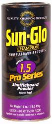 Sun-Glo Speed #1.5 Pro Series Shuffleboard Table Powder Wax - 1 Can