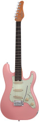 Schecter Nick Johnston Traditional Signature Electric Guitar Atomic Coral