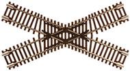 Atlas N Scale Code 55 45-Degree Crossing Model Train Track
