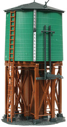 Atlas HO Scale Model Railroad Building Kit Water Tower for Steam Trains