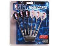 Set of 6 NBA Dallas Mavericks Steel Tip Darts & Flights with NBA Logo