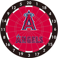 "MLB Anaheim Angels 12"" Paper Dart Board With Darts-Limited Quantity!!"