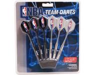 Set of 6 NBA Orlando Magic Steel Tip Darts & Flights with NBA Logo