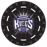 "NBA Sacramento Kings 18"" Bristle Steel Tip Dart Board-Limited Quantity!!"